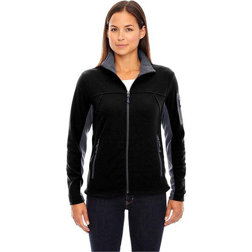 LM1387 North End Ladies Microfleece Jacket