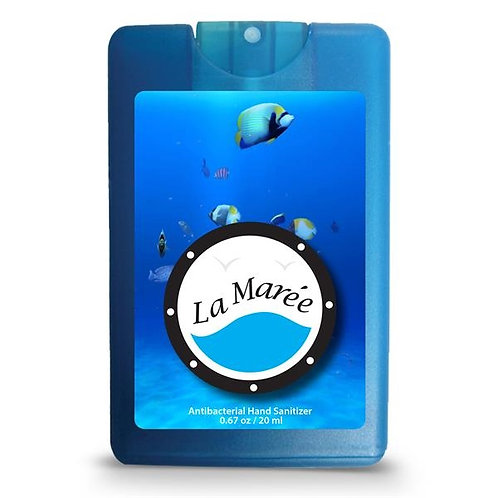 LM91126 Credit Card Style Antibacterial Hand Sanitizer Spray