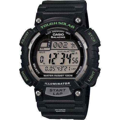 LM720 Mens Tough Solar Sports Watch, Black