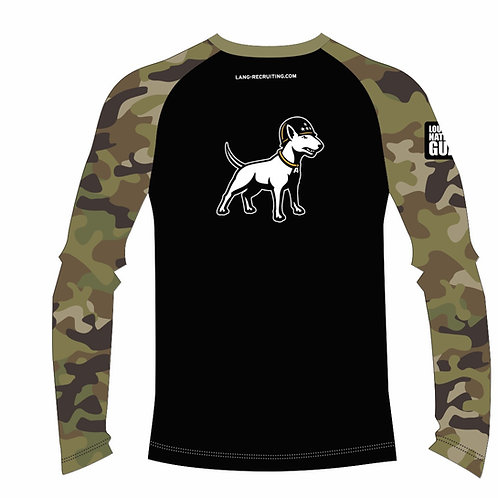 LM53021 Long Sleeve T-shirt with Sublimated Sleeves