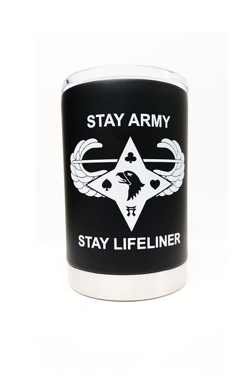 LM4421 11 oz Stainless Steel Tumbler with Acrylic Lid
