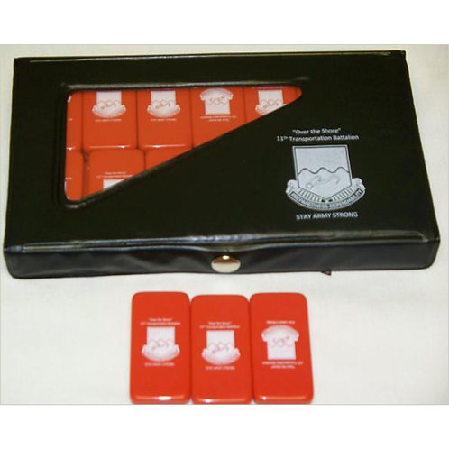 LM4322 Custom Domino Set in Vinyl Case
