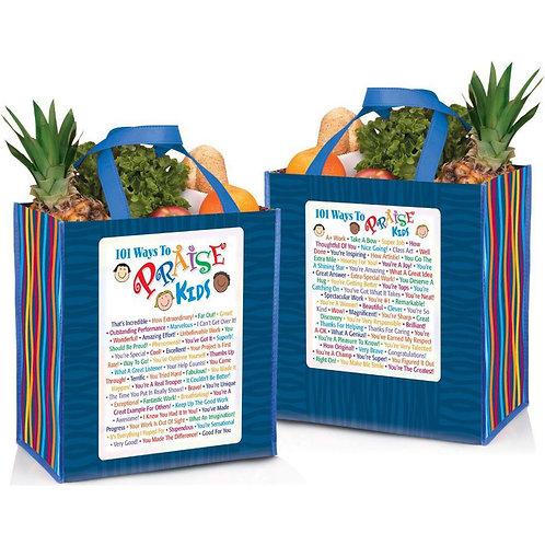 LM5496 101 Ways To Praise Kids Laminated Tote Bag
