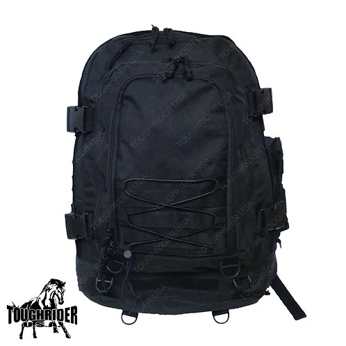 LM3089 Toughrider ™ Black Expandable Backpack