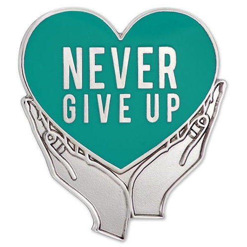LM15251 NEVER GIVE UP PIN