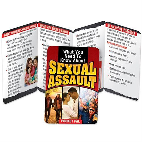LM2205  What You Need To Know About Sexual Assault Pocket Pal