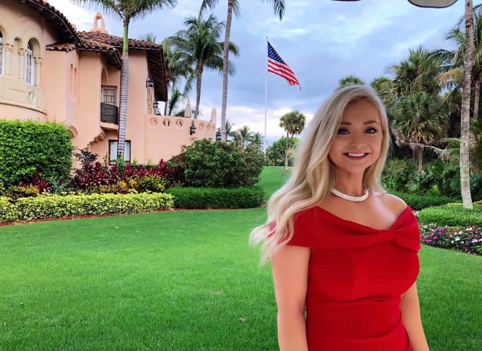 Kristen Honeycutt at President Trumps Florida Residence, Mar-A-Lago