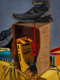 Personal Still Life Painting in Oil