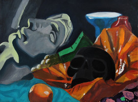 5 Day Painting Random Still Life