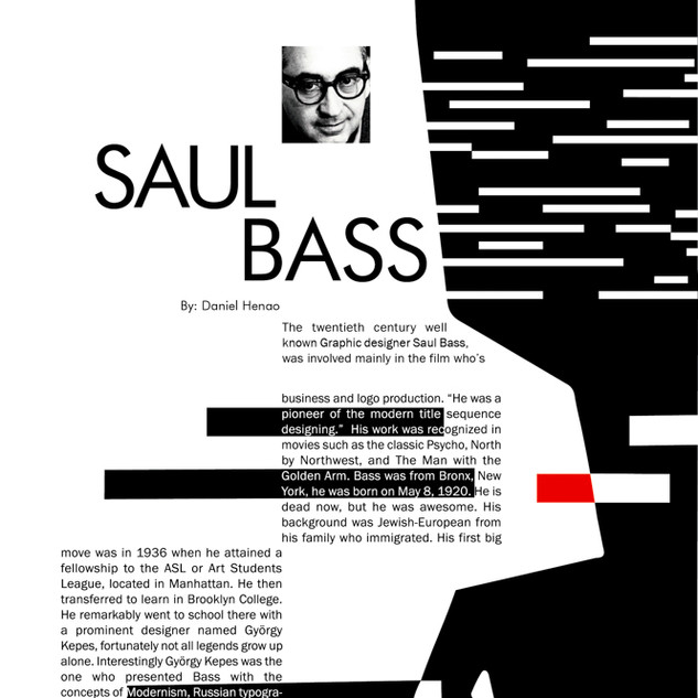 Saul Bass Biography Magazine Page 4