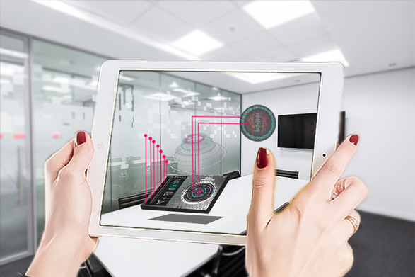 Ipad Augmented Reality Mockup