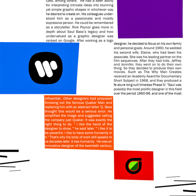 Saul Bass Biography Magazine Page 9