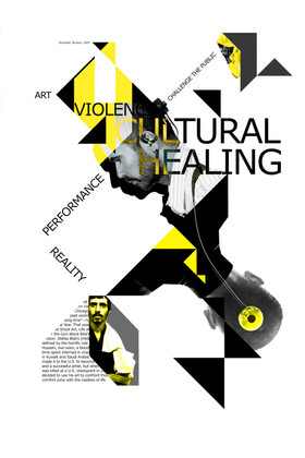 Wafaa Bilal Poster Collage