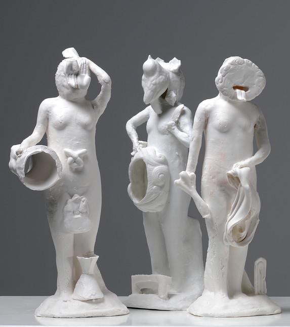 Neuf neures déesses (detail)