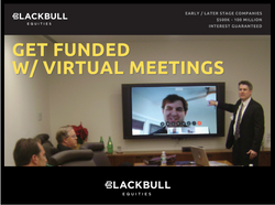 London (United Kingdom): Blackbull Launches Virtual Funding Meetings (Covid19 Business Demand)