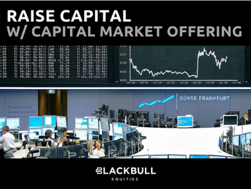 London (United Kingdom): Blackbull Releases the 2021 Terms for its Capital Market Offering Services