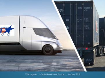 Houston (USA): Blackbull Receives TXN Logistics Mandate for Capital Roadshow Europe
