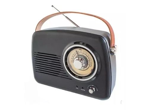 Radio vintage bluetooth recargable