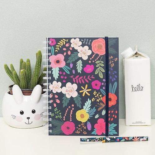 """Cuaderno """"Flores"""""""