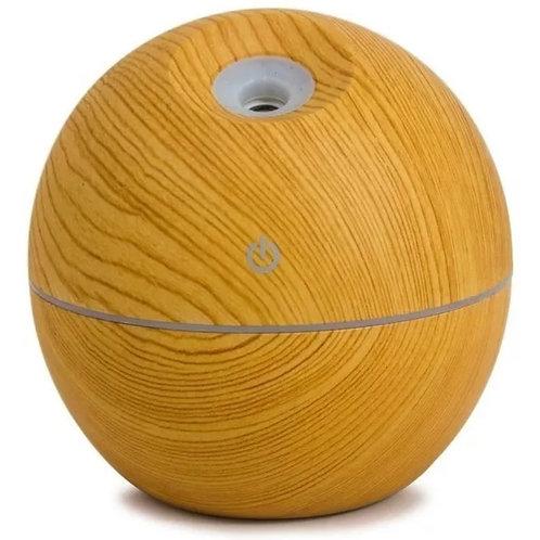 Humidificador Usb esférico símil madera