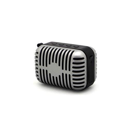 Reproductor Elvis símil micrófono
