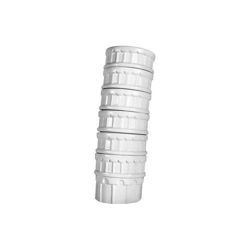 Tazas apilables Torre de Pisa