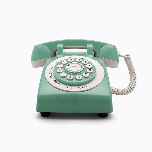 Teléfono Retro Phone 70' Verde