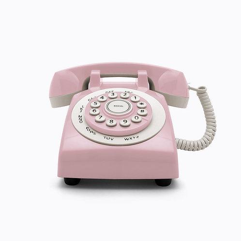 Teléfono Retro Phone 70' Rosa