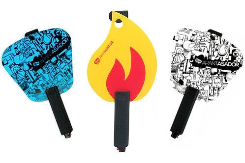 Apantallador de fuego Apantasador con encendedor