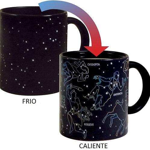 Taza mágica Constelaciones