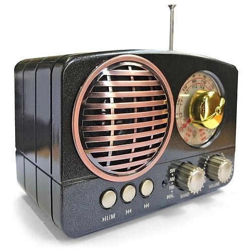 Radio Retro Vintage Antigua AM/FM USB