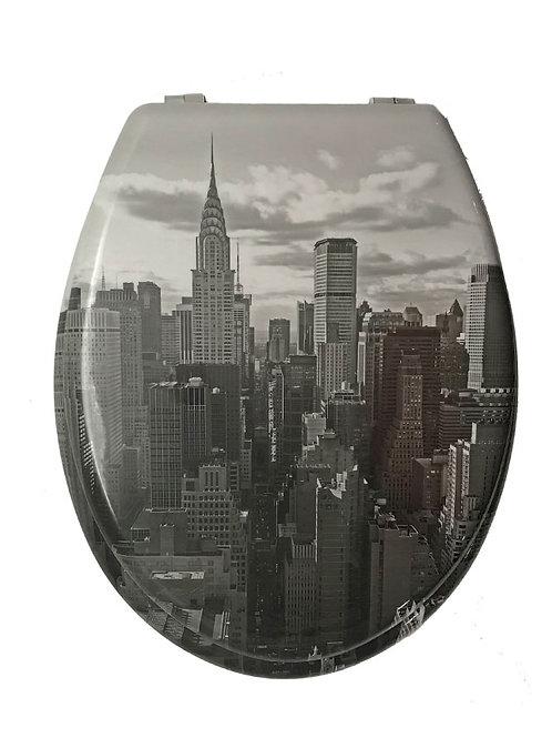"""Tapa de inodoro """"New York"""""""
