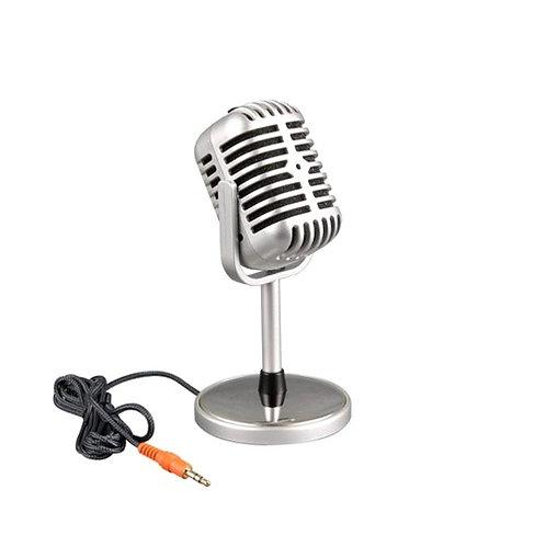Micrófono para computadora retro