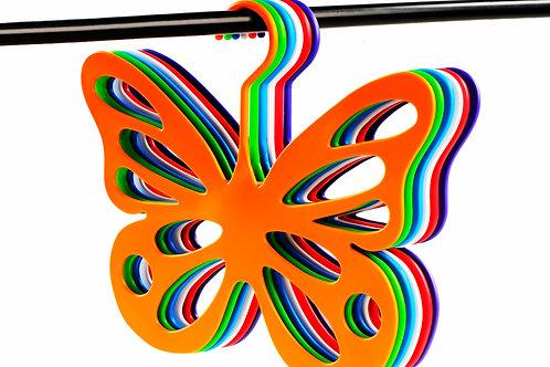 Percha mariposa
