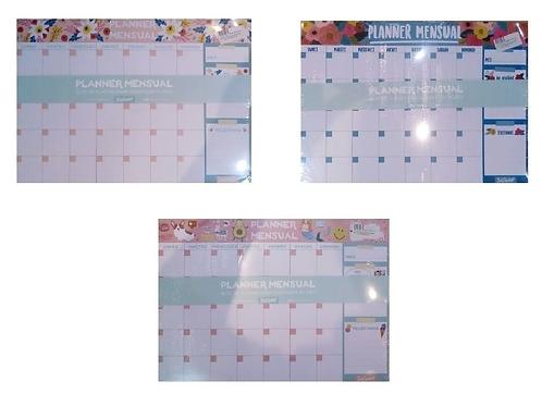 Organizador Mensual 12 hojas