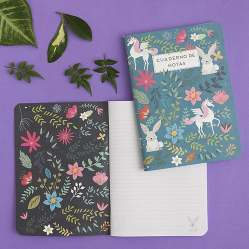 """Cuaderno de Notas """"Bosque"""""""