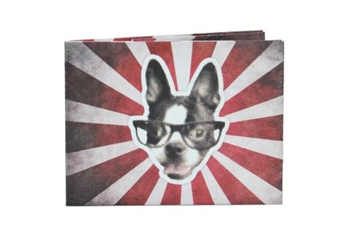 Billetera Monkey Wallets de Tyvek ¨Perro¨