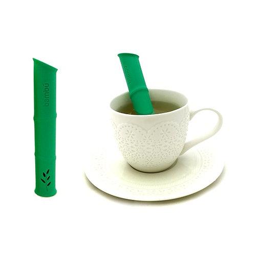 Infusor de té de silicona Bambú
