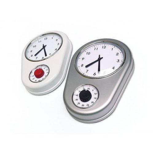 Reloj de pared con timer
