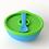 Thumbnail: Bowl de silicona con tapa y cuchara para bebés