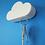 Thumbnail: Portallaves imantado nube Blanca