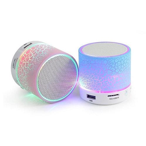 Reproductor Parlante Bluetooth manos libres con luz Led