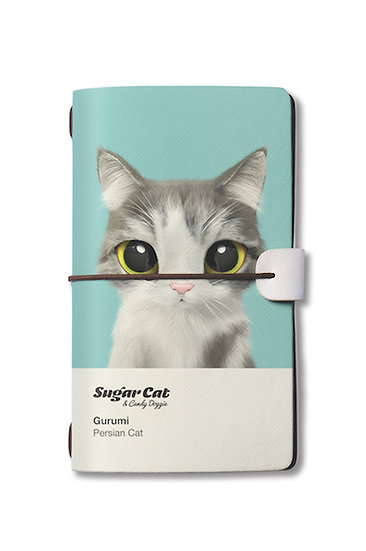 Travelogue notebook_SugarCat CandyDoggie_Gurumi the Persian Cat
