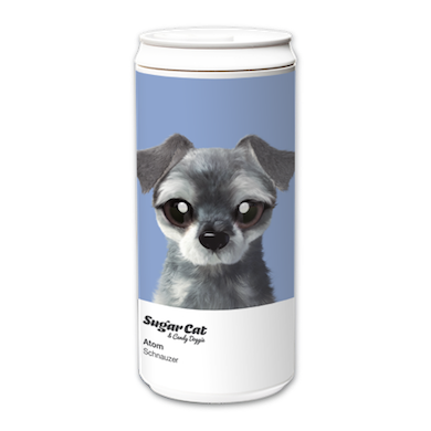 ECO Can 330ml_SugarCatCandyDoggie_Atom the Schnauzer