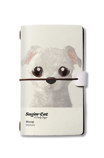 Travelogue notebook_SugarCat CandyDoggie_Mongi the Maltese