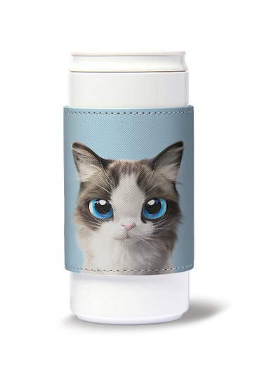 ECO Can Plus 330ml w/ sleeve_SugarCat CandyDoggie_Vani the Ragdoll cat