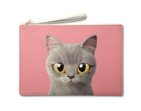 Large Pouch_SugarCat CandyDoggie_Somi the British shorthair cat