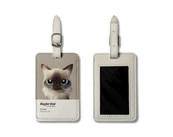 Luggage Tag_SugarCat CandyDoggie_Hongsi the Baliness cat