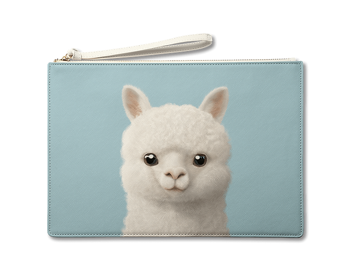 Large Pouch_SugarCat CandyDoggie_Angsom The Alpaca