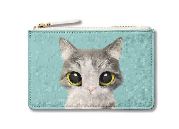 Small Pouch_SugarCat CandyDoggie_Gurumi the Persian Cat